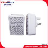 Plugue portuário do Reino Unido do carregador da parede do curso da HOME do USB do telefone móvel 4