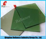5mm 5.5mm 6mm dunkelgrünes reflektierendes Glas mit Ce/ISO Bescheinigung