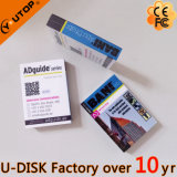 1-128GB 주문 Fullcolor 로고 책 USB 섬광 드라이브 (YT-1142L)