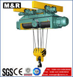 alzamiento de cuerda eléctrico de alambre 300kg con el gancho de leva doble