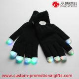 El color de los items del partido que cambia el LED negro enciende el guante
