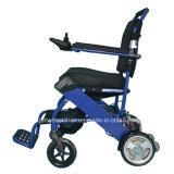 Peso leve de dobramento da cadeira de rodas do transporte para o curso