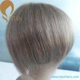 Peluca llena asiática del pelo humano del cordón con buen servicio after-sales