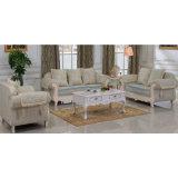 Sofá de la sala de estar/sofá fijado/de madera del sofá (D92)