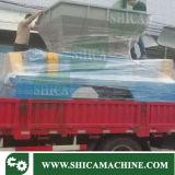 Desfibradora de dos ejes plástica inútil del tanque, del envase y del compartimiento