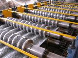 Палуба стального пола металла формировать линию машину