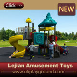 Скольжение оборудования спортивной площадки пластичных детей напольное для школы (X1508-3)