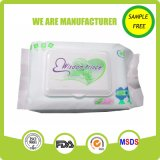Tejido mojado del mejor bebé orgánico natural de la calidad de China