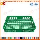 플라스틱 슈퍼마켓 과일 전시 콘테이너 회전율 상자 (ZHtb37)