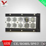 barra chiara di 6D 480W LED per la jeep (IP68 4X4 fuori dal doppio Osram della strada)