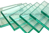 vidro temperado desobstruído de 10-12mm como a parte superior da mobília