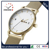 OEM het Horloge van de Dames van de Douane van de Riem van de Horloges van het Leer (gelijkstroom-077)