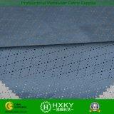 Ткань сетки полиэфира Coated с ромбовидным узором для Outerwear