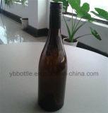 bottiglie di vetro verde scuro del vino 500ml