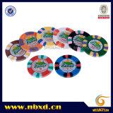 9,5 g de 3 colores pura arcilla Etiqueta Chip (SY-C08)