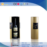 Valigia di cuoio di lusso all'ingrosso del vino per 2 la bottiglia (5841R1)