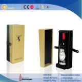 Großhandelslederner Wein-Luxuxkoffer für Flasche 2 (5841R1)