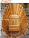 Mobilia di legno comune della stanza da bagno degli apparecchi del bagno della vasca da bagno
