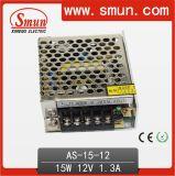электропитание переключения малого размера 15W 12VDC 1.3A одновыходовое