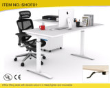 Bureau Furniture Office Height Adjustable Desk dans Steel avec Manual Crank