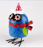 Regalo divertente di natale del gallo del mestiere del metallo di disegno della novità