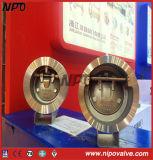 Tipo NAF tipo da bolacha do balanço que inclina a válvula de verificação