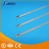 Korrosions-Trübung-Strichleiter-Typ Edelstahl-Kabel-Binden-Multi Verriegelungs-Typ