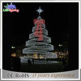 Albero caldo di motivo dell'indicatore luminoso 3D della corda dell'albero della decorazione di natale della Cina LED di vendita