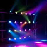 Nieuwe 4X10W Zoom Bee Moving Head Light voor Disco DJ