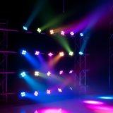 Nueva 4X10W zoom abeja luz principal móvil para el disco de DJ