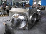 材料A182 F22の熱い造られたステンレス鋼の側面ティー弁