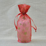 Organza Bag mit Christmas Pattern