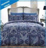 Reeks van de Dekking van het Dekbed van de Polyester van de indigo de Mozaïek Afgedrukte