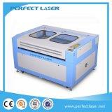 Máquina del laser del CO2 de acrílico/tarjeta del plástico/de madera/PVC/máquina de grabado de cuero del laser