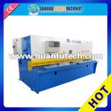 Máquina de corte hidráulica do aço inoxidável do CNC de QC12y