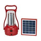 Lâmpada de acampamento solar portátil do diodo emissor de luz das vendas por atacado Ebst-D09b para ao ar livre