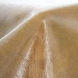 Cuir artificiel de cire de pétrole pour des meubles, sofa (498#)