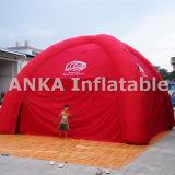 Tienda inflable de las piernas de la araña roja con el ventilador