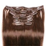 """grampo 7PCS/Set 15 """" 70g em extensões do cabelo humano para o americano africano"""