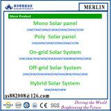 Кристаллическая панель солнечных батарей для электростанции