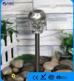 Kristallglas-Solarstange-Licht-Garten-Licht
