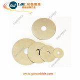 Coupe-disque à lames à scie à cirage en carbure de tungstène
