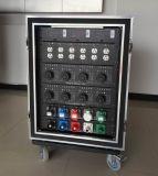 Caixa da fonte da corrente eléctrica com conetores de Socapex