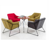 Silla del sofá del salón de los muebles de la barra del diseño de la manera (UL-LS071)