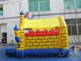 Casa animosa inflable, gorila de salto, castillo animoso