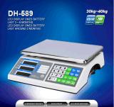 Proveedor de fábrica que pesa la escala con la exhibición de LED / LCD (DH-589)