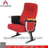 플라스틱 움직일 수 있는 교회 의자 직물 Corve Yj1003b