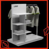 Soporte de visualización de la ropa de la visualización de mercancía de la ropa del metal