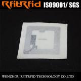 13.56MHz Tag de papel descartável das etiquetas adesivas feitas sob encomenda RFID