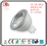 에너지 별 ETL LED 가벼운 12V/24V DC AC MR16 Dimmable 7W